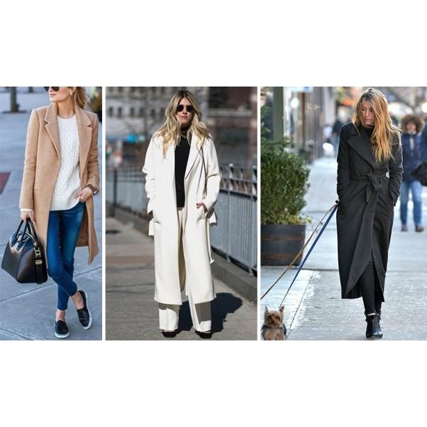 Кога и как да носите есенно манто?