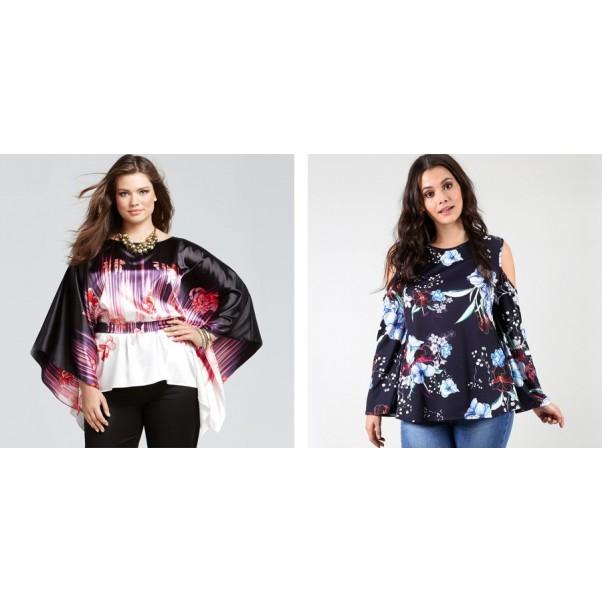 Кои са перфектните блузи за закръглени жени?