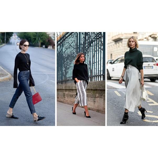 Спортно-елегантни панталони, дамски дънки с висока талия
