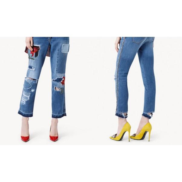 Как да изглеждаме добре с дънки?
