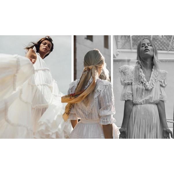 Лятната бяла рокля и нейният ненадминат чар!