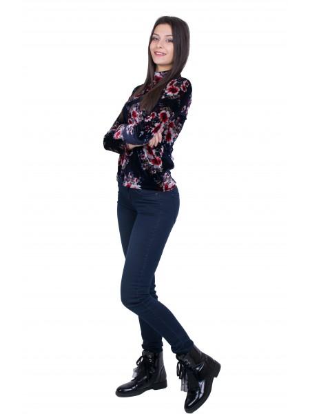 Дамски Комплект от Блуза с Дънков Панталон BN 20530 - 540 / 2021