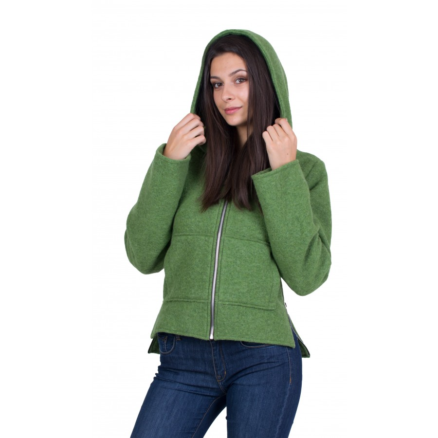 Women's Woolen Short Coat J 20509 / 2020