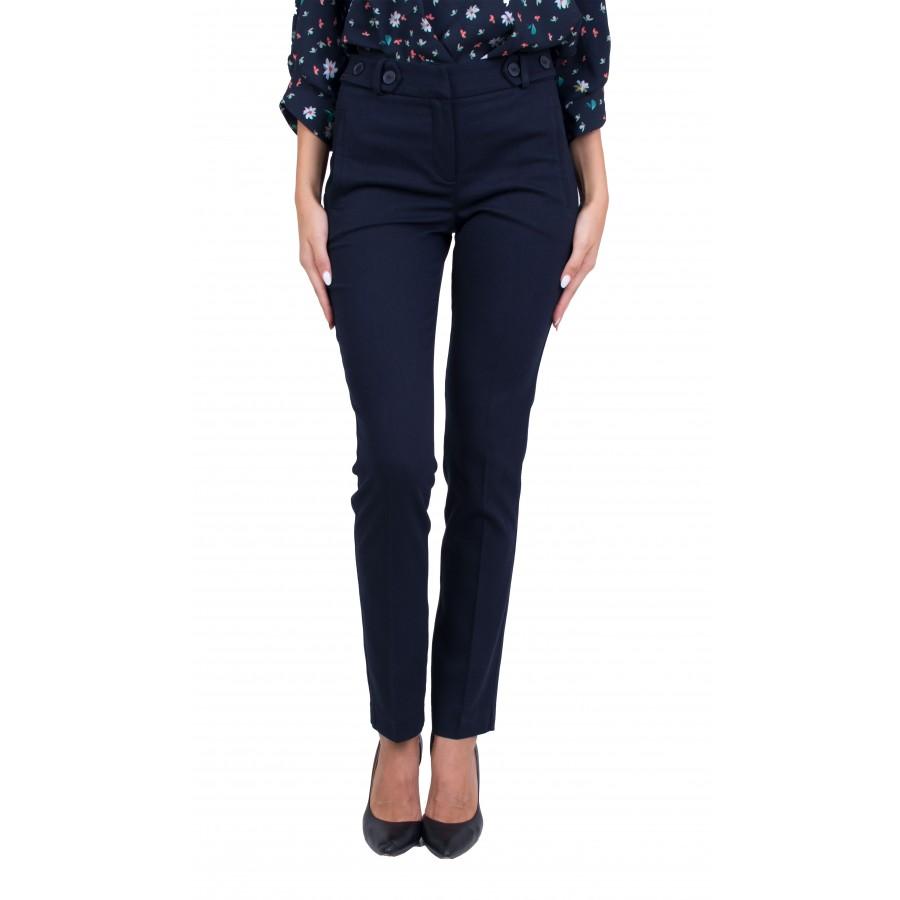 Дамски официален тъмно син панталон N 20513 / 2021