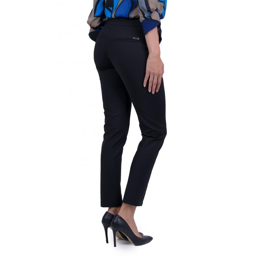 Черен Дамски Официален Панталон 21510