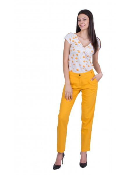 Дамски Комплект от Трикотажна Блуза с Панталон 20197 - 220 / 2020