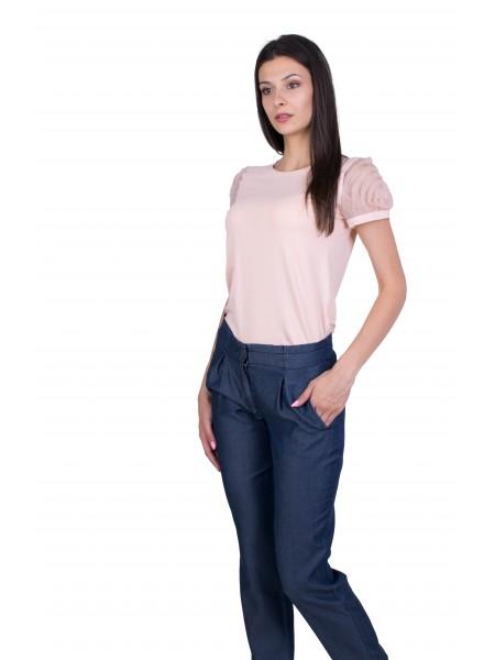 Дамски Комплект от Блуза с Дънков Панталон BN 20277 - 203 / 2020