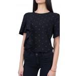 Черна Дамска Блуза B 21111 / 2021