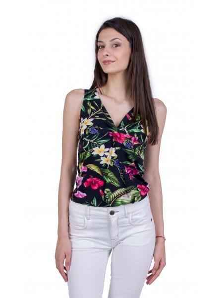 Дамска Лятна Блуза Без Ръкав B 21795
