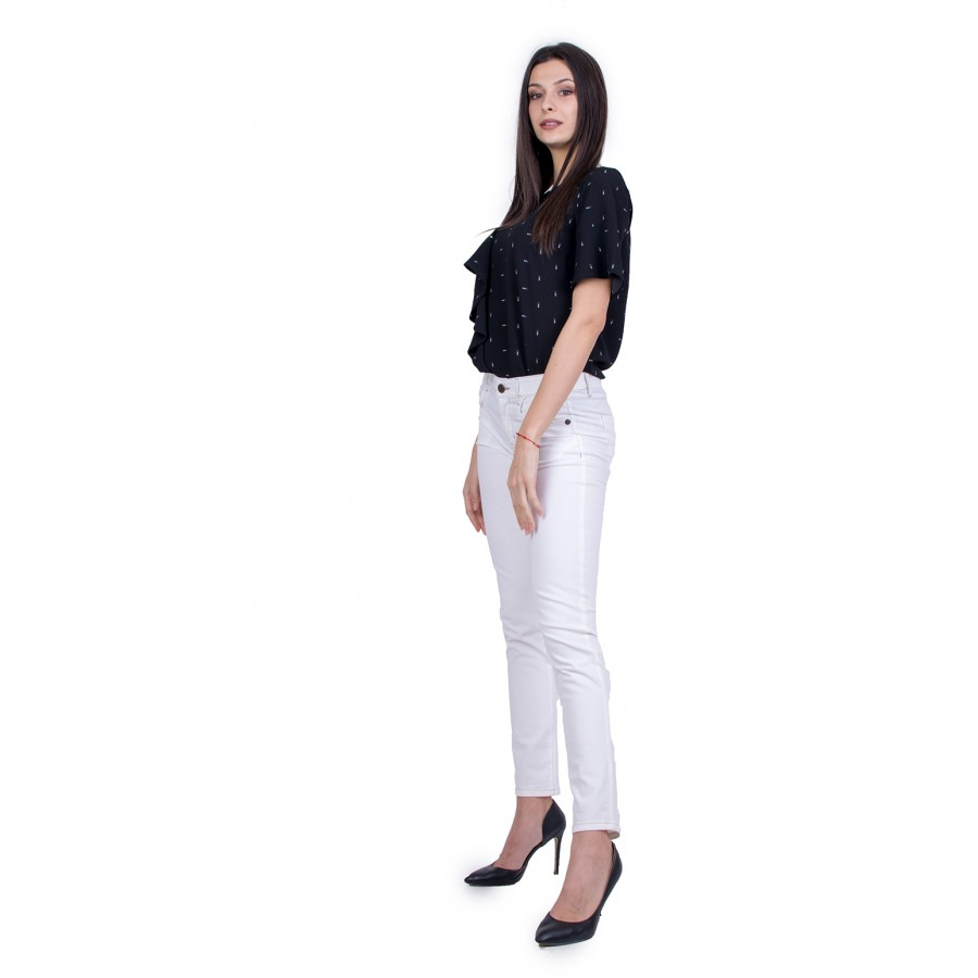 Дамски Комплект от Блуза с Панталон 21111 - 167 / 2021