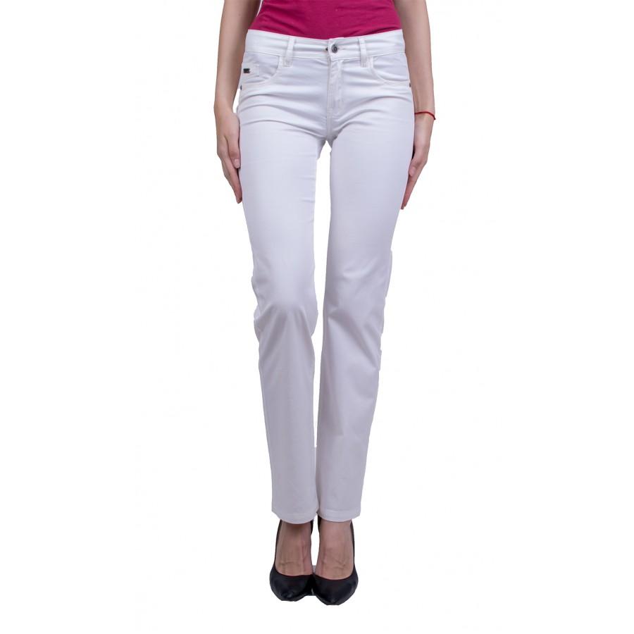 Дамски панталон от памучен плат N 20111 / 2020