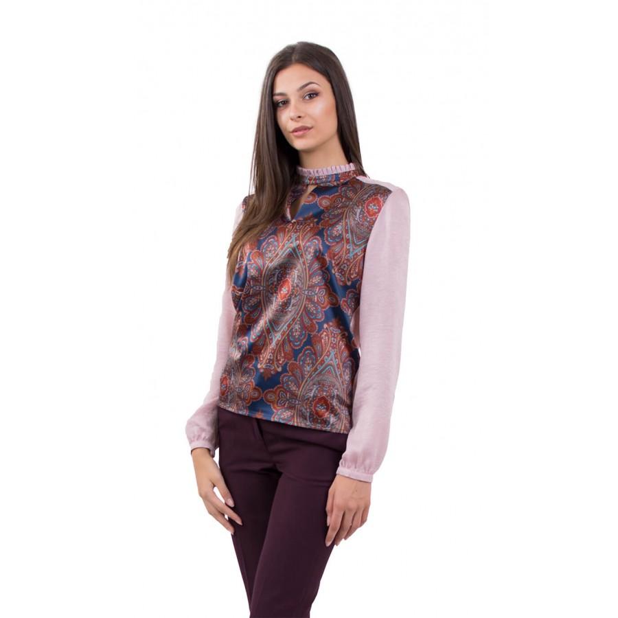 Дамска блуза с дълъг ръкав  B 18503