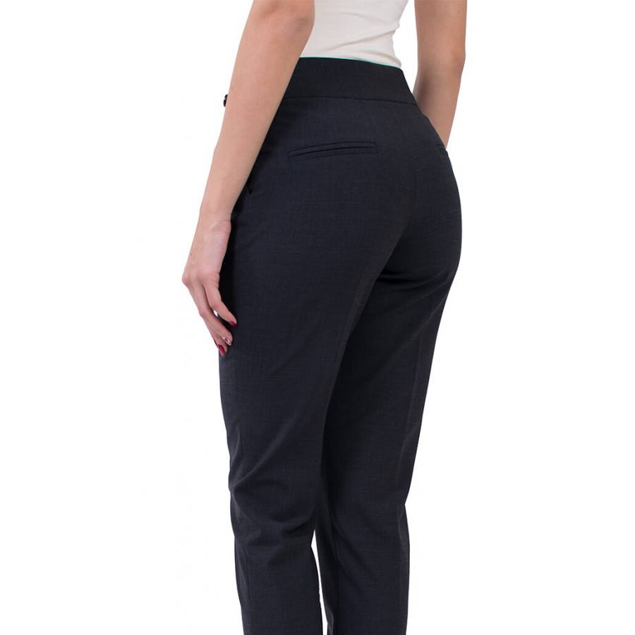 Дамски зимен офис панталон сив N 17503 ANTRA / 2019