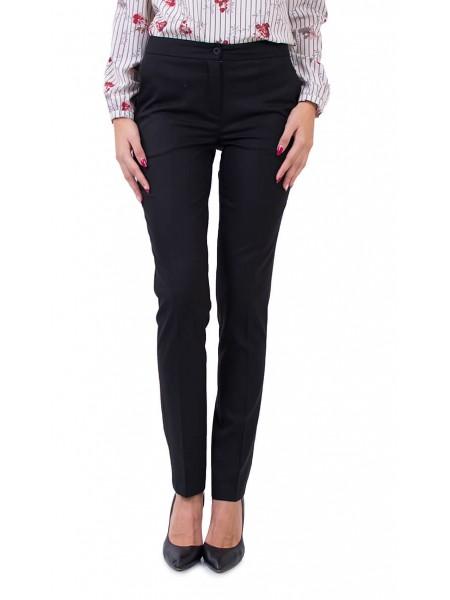 Черен дамски панталон N 18565 / 2019