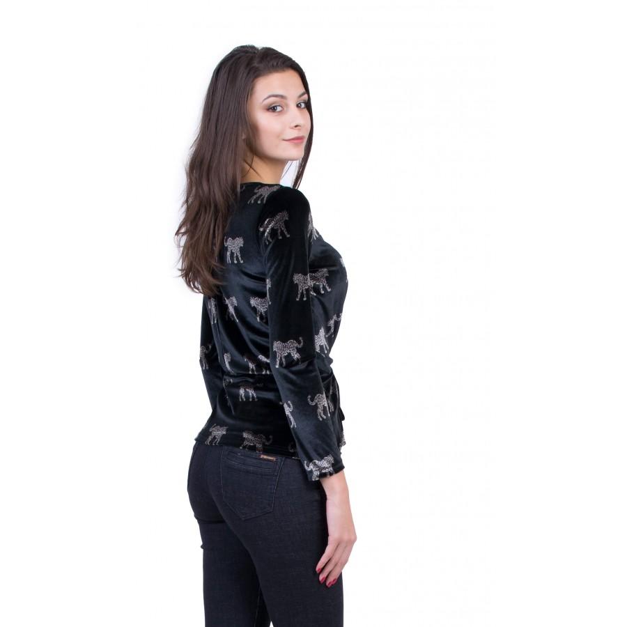 Дамска елегантна блуза с дълъг ръкав B 19556 / 2020