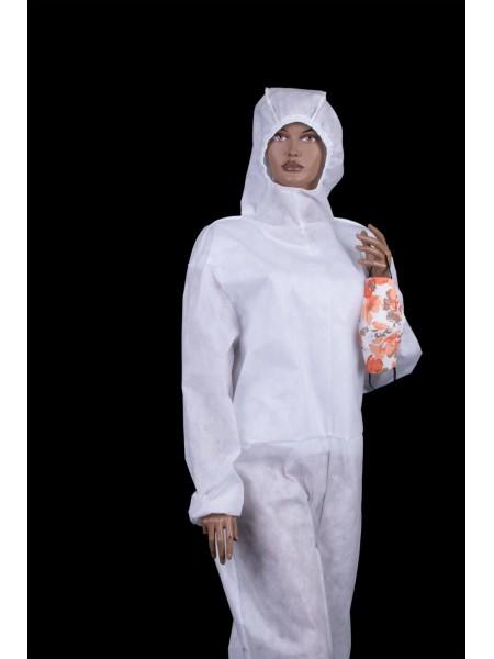 Предпазен Дамски Гащеризон -  Бял G 20310