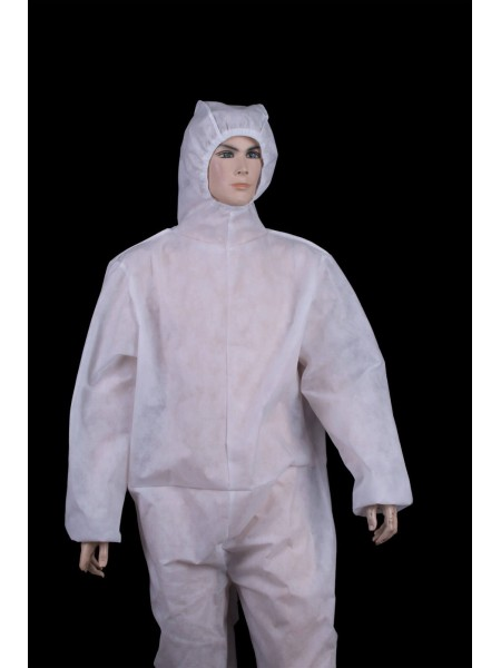Предпазен Мъжки Гащеризон -  Бял G 20311