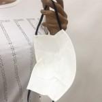 Предпазна Маска - Бяла от Памучен Плат M 20308
