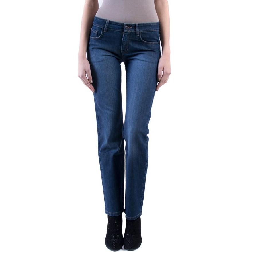 Син дънков панталон 15128  на топ цена