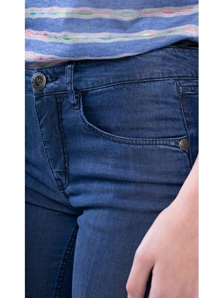 Дамски летни дънки от дънков плат тенсел N 18102 SVR