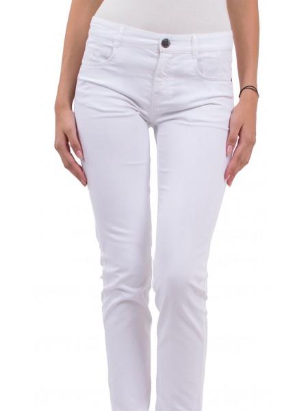 Дамски панталон от памук с еластан N 18167 A