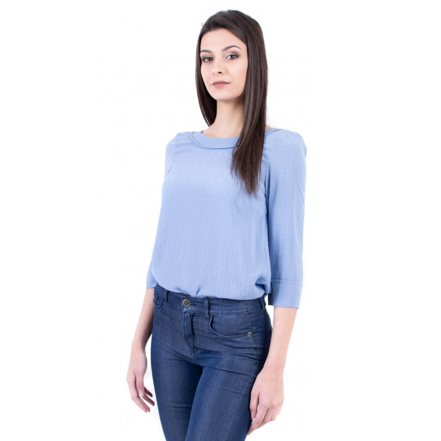 Дамски комплект блуза от вискоза и летен дънков панталон BN 18130 - 105