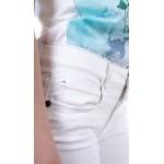 Дамски комплект блуза с бял памучен панталон BN 19216 - 167 / 2019