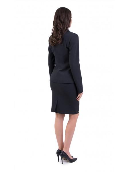 Дамски костюм с пола в антрацит JP 19118 - 120 / 2019