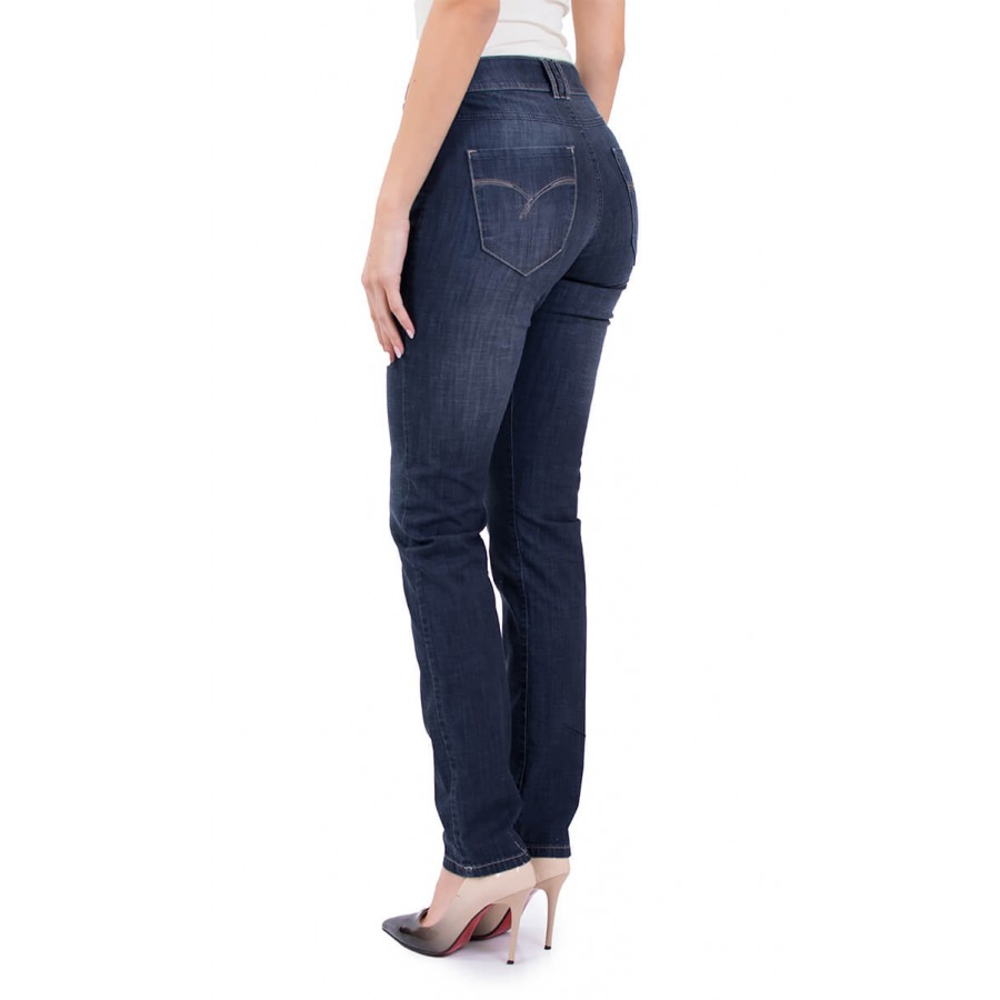 Ladies' jeans from thin denim fabric N 19108 / 2019