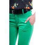 Дамски памучен панталон N 19222 / 2019