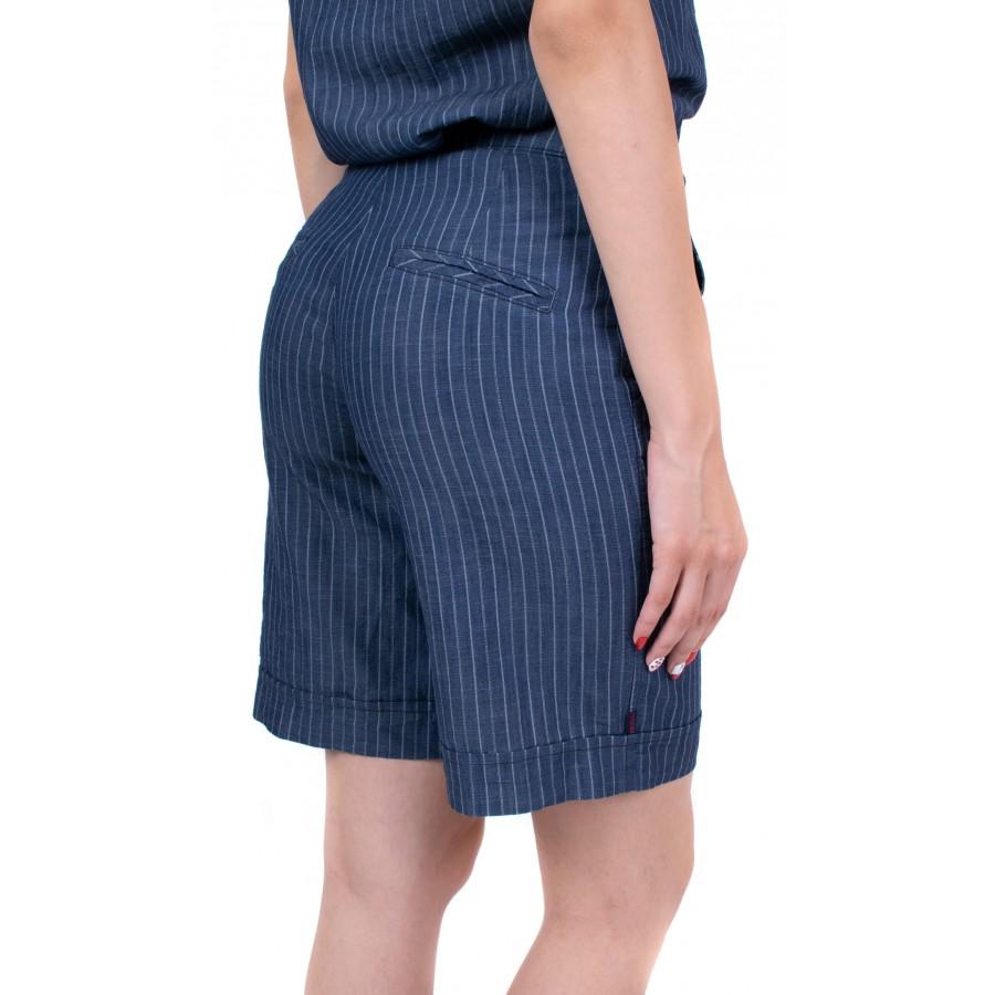 Дамски ленен панталон N 19239 / 2019