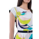 Дамска рокля с модерен и функционален дизайн R 19205 / 2019