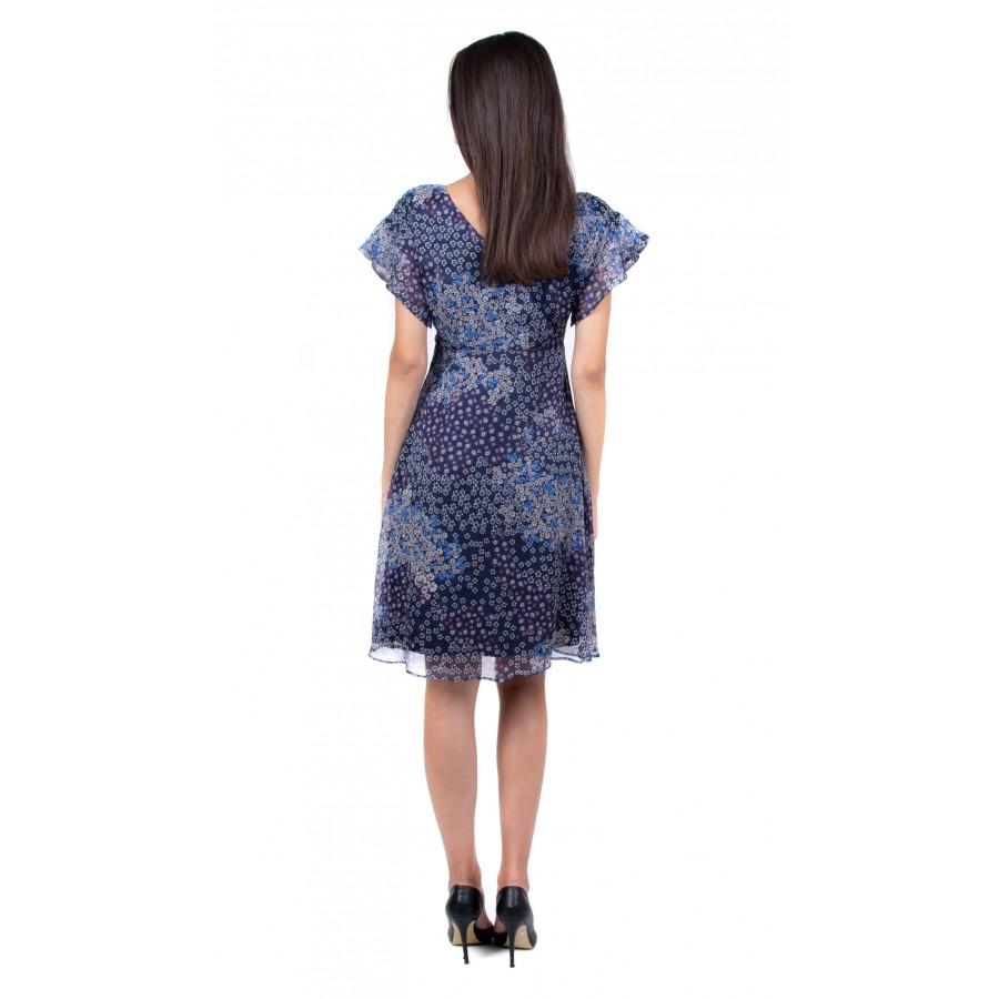 Summer chiffon dress R 19236 / 2019