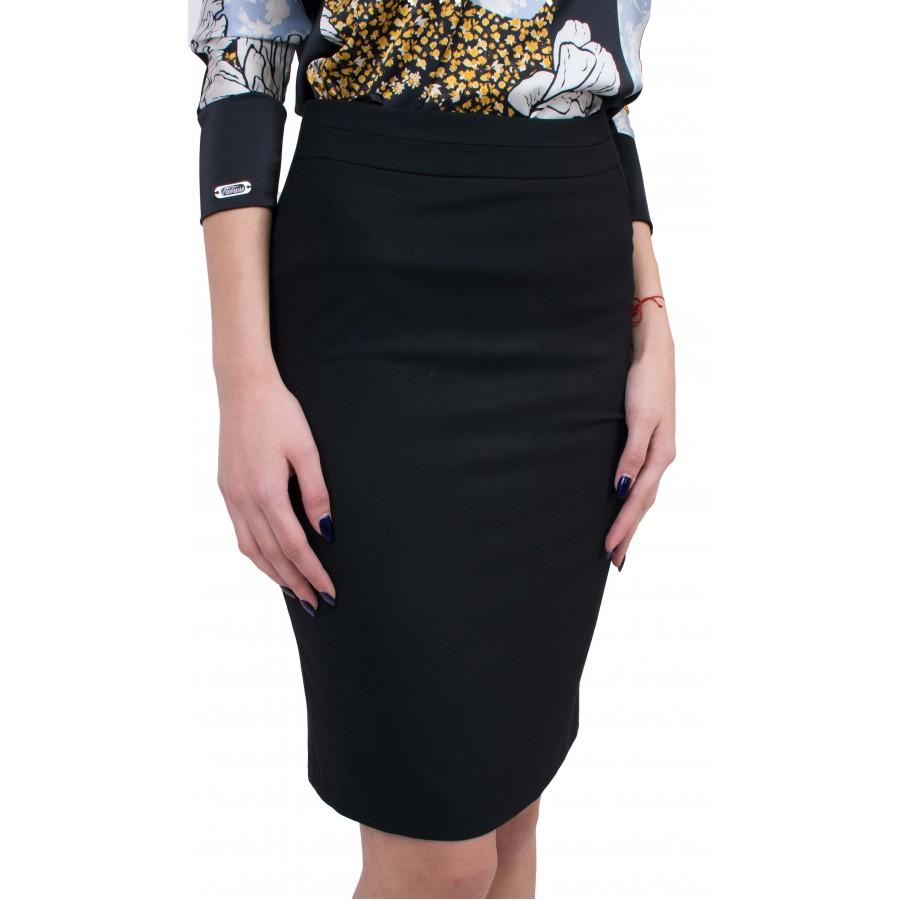 Дамски Комплект Блуза с Черна Права Пола BP 20126 - 146 / 2020