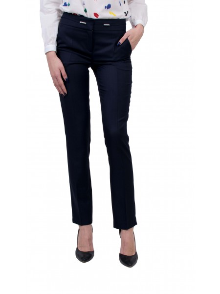 Официален Дамски Тъмно Син Панталон N 20115 BLUE / 2020