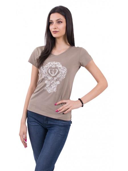 Трикотажна Тениска Къс Ръкав 18203
