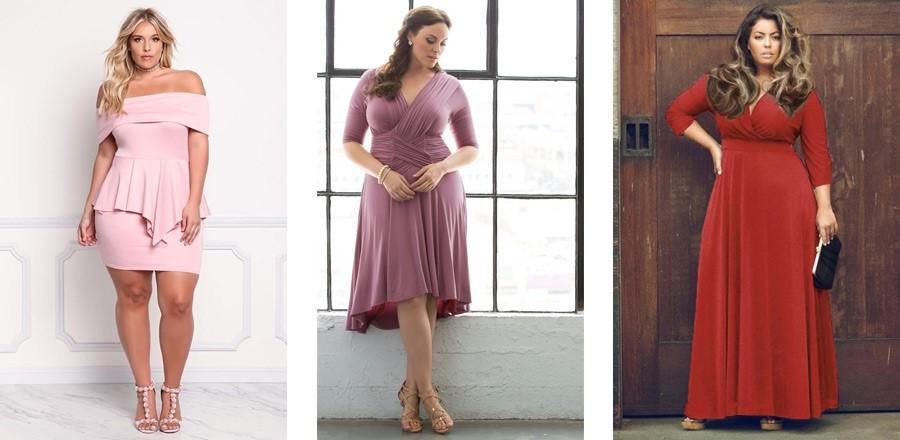 Красиви рокли за пълни жени